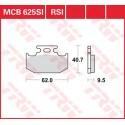 Тормозные колодки LUCAS MCB625SI