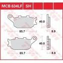 Тормозные колодки LUCAS MCB634LF