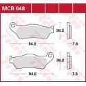 Тормозные колодки LUCAS MCB648SI