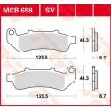 Тормозные колодки LUCAS MCB658