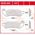 Тормозные колодки LUCAS MCB658SV