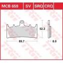 Тормозные колодки LUCAS MCB659SV