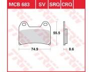Тормозные колодки LUCAS MCB683