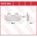 Тормозные колодки LUCAS MCB685