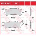 Тормозные колодки LUCAS MCB692SV