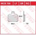 Тормозные колодки LUCAS MCB700