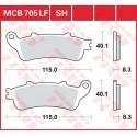 Тормозные колодки LUCAS MCB705LF