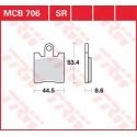Тормозные колодки LUCAS MCB706SV
