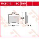 Тормозные колодки LUCAS MCB710