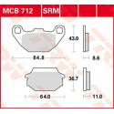 Тормозные колодки LUCAS MCB712SRM