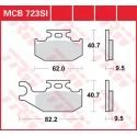 Тормозные колодки LUCAS MCB723SI