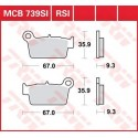 Тормозные колодки LUCAS MCB739RSI