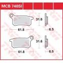 Тормозные колодки LUCAS MCB740SI