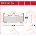 Тормозные колодки LUCAS MCB747SV