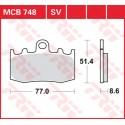 Тормозные колодки LUCAS MCB748