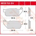 Тормозные колодки LUCAS MCB753SV