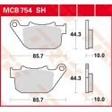 Тормозные колодки LUCAS MCB754SH