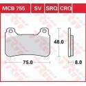 Тормозные колодки LUCAS MCB755SV