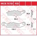 Тормозные колодки LUCAS MCB757SI