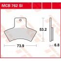 Тормозные колодки LUCAS MCB762SI
