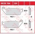 Тормозные колодки LUCAS MCB764SH