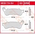 Тормозные колодки LUCAS MCB776SRM