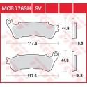 Тормозные колодки LUCAS MCB776SV