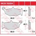 Тормозные колодки LUCAS MCB783SH