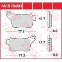 Тормозные колодки LUCAS MCB784SH
