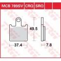 Тормозные колодки LUCAS MCB789SV