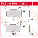 Тормозные колодки LUCAS MCB793RSI
