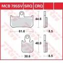 Тормозные колодки LUCAS MCB795SV