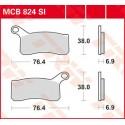 Тормозные колодки LUCAS MCB824SI