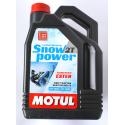 Масло для снегоходов Motul SNOWPOWER 2T (4L)