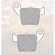 Тормозные мото колодки Renthal RC-1 Works Brake Pads BP-101