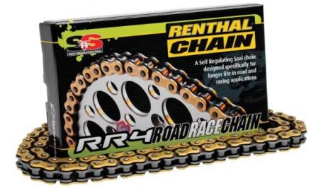 Мото цепи Renthal RR4 - Road/Race Chain 520