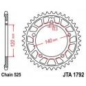 Звезда задняя легкосплавная JT JTA1792.45