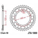 Звезда задняя легкосплавная JT JTA1800.43