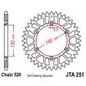 Звезда задняя легкосплавная JT JTA251.51