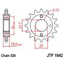 Звезда передняя JT JTF1042.14