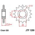 Звезда передняя JT JTF1299.14