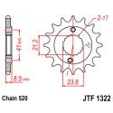 Звезда передняя JT JTF1322.13