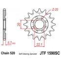 Звезда передняя JT JTF1590.13SC