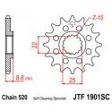 Звезда передняя JT JTF1901.14SC