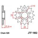 Звезда передняя JT JTF1902.17
