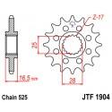 Звезда передняя JT JTF1904.16