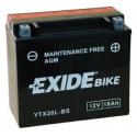 Аккумулятор гелевый EXIDE YTX20L-BS