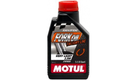Масло для мото-вилок Motul 2,5W FORK OIL VERY LIGHT FACTORY LINE SAE (1L)