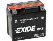 Аккумулятор гелевый EXIDE YTX5L-BS-(ETX5L-BS)