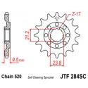 Звезда передняя JT JTF284.14SC